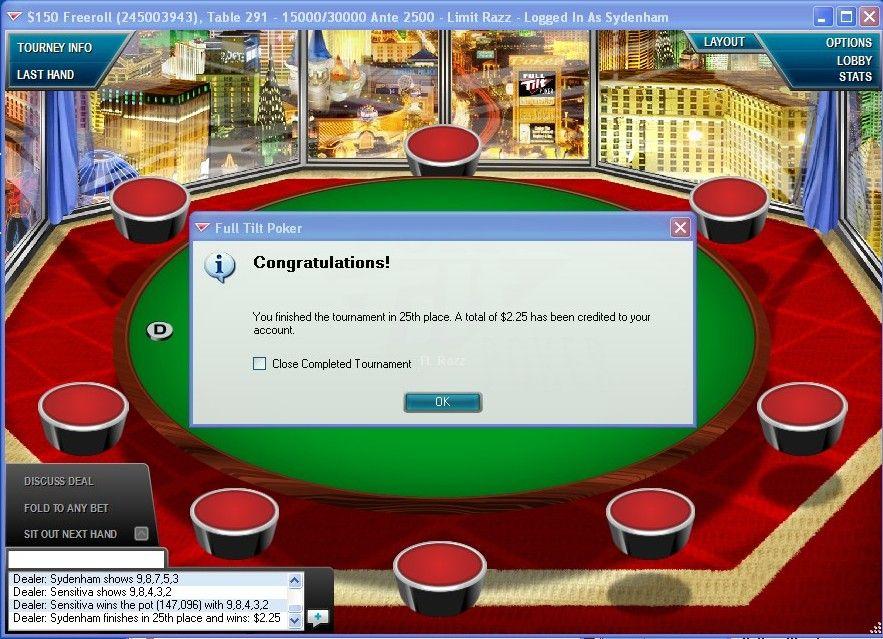 Full Tilt Poker Free Money