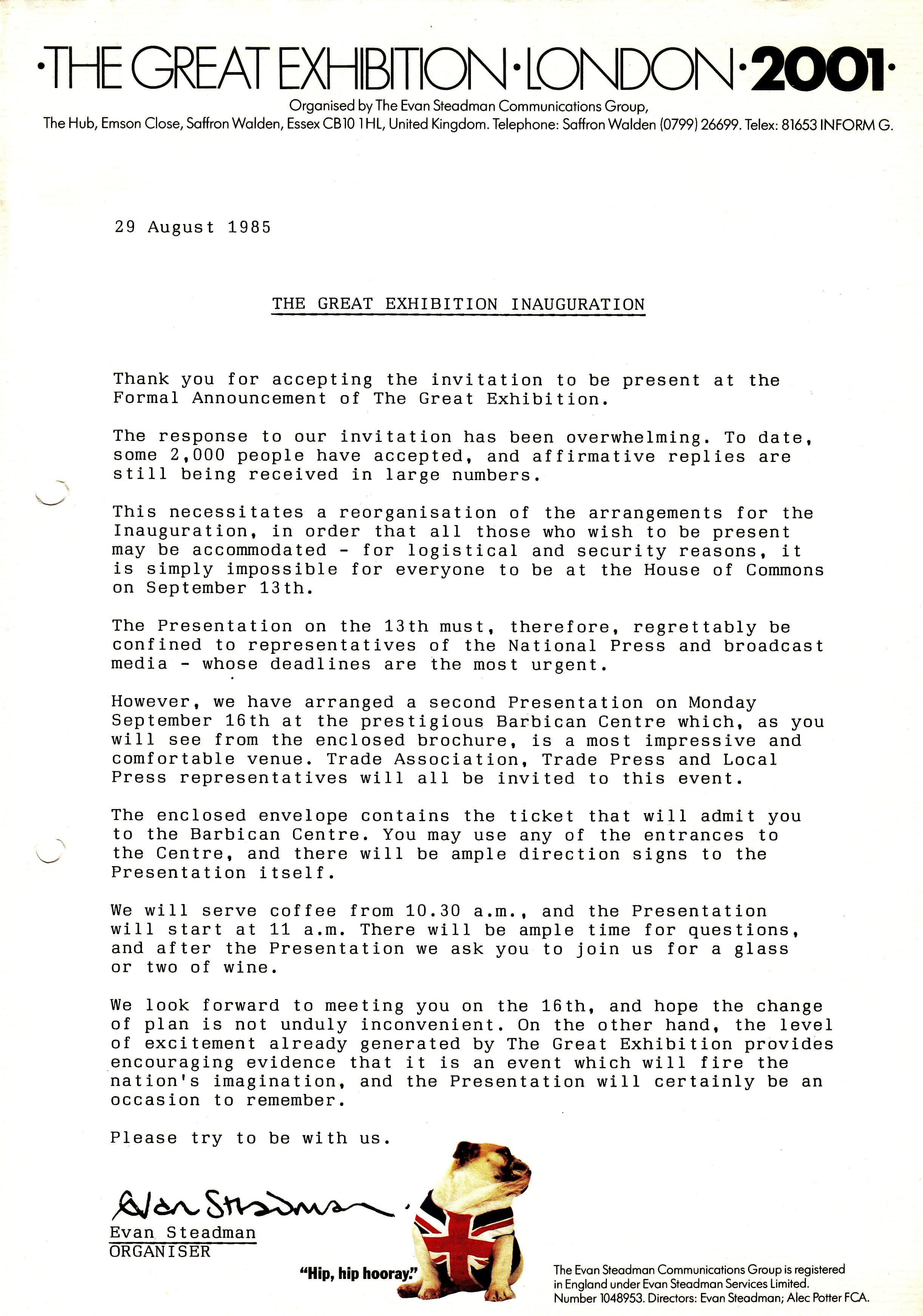 The ncropa archive 1985 72a exhibition flyer although the above concerns an event on september 16 1985 it appears to have arrived in the same envelope as document 72 stopboris Choice Image