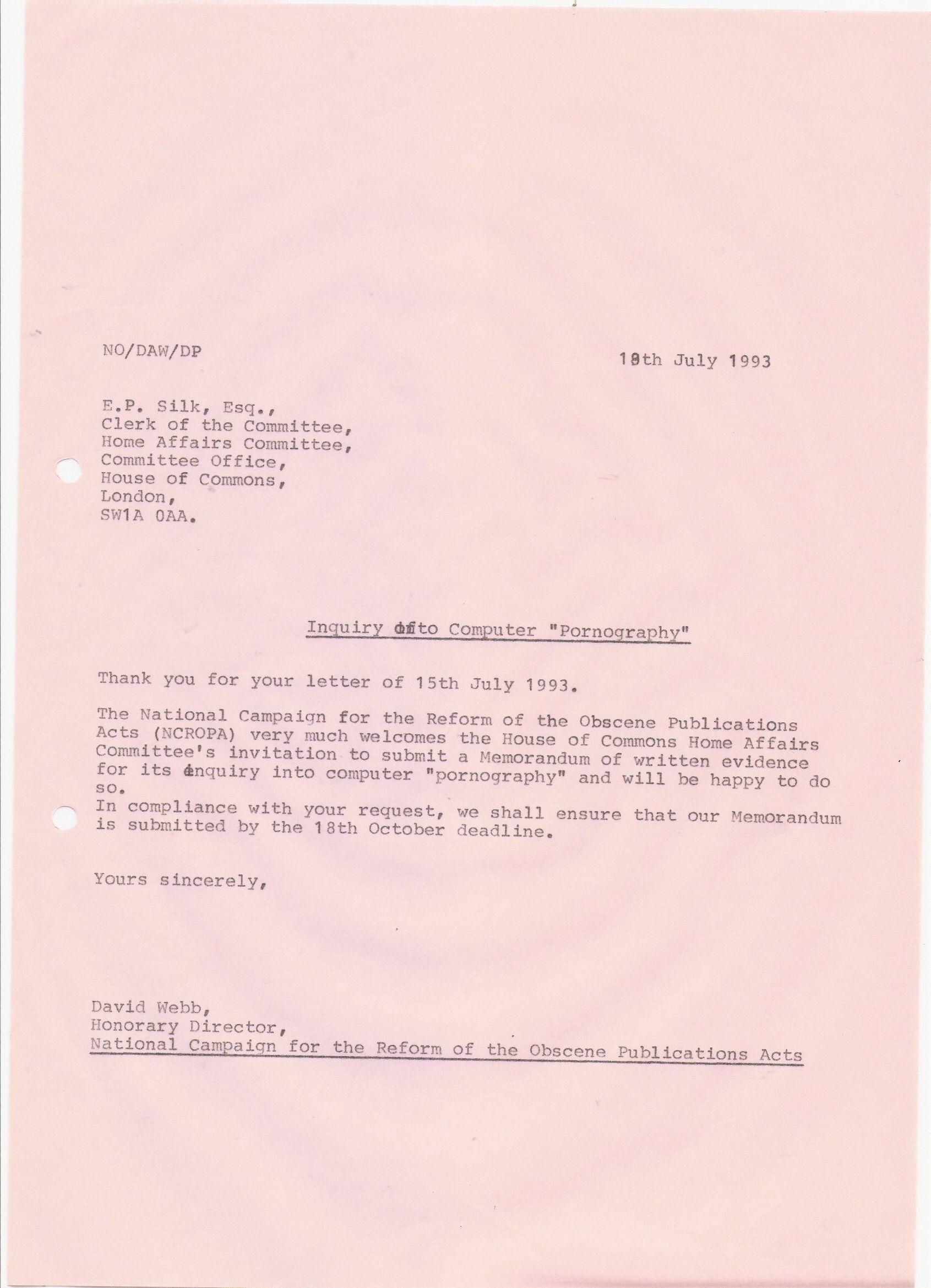 101 Copy letter David WebbNCROPA THE