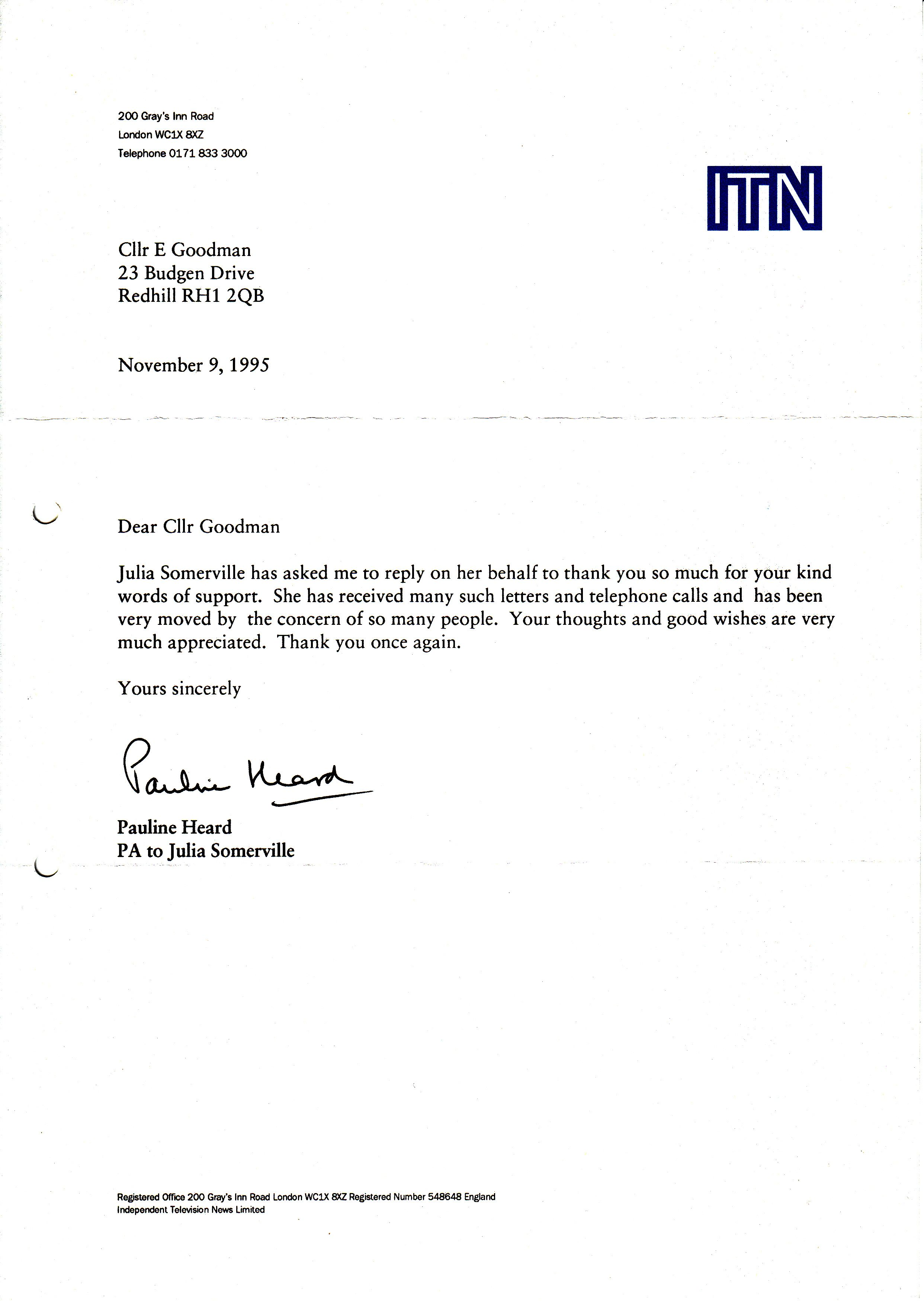 example of resigning letter