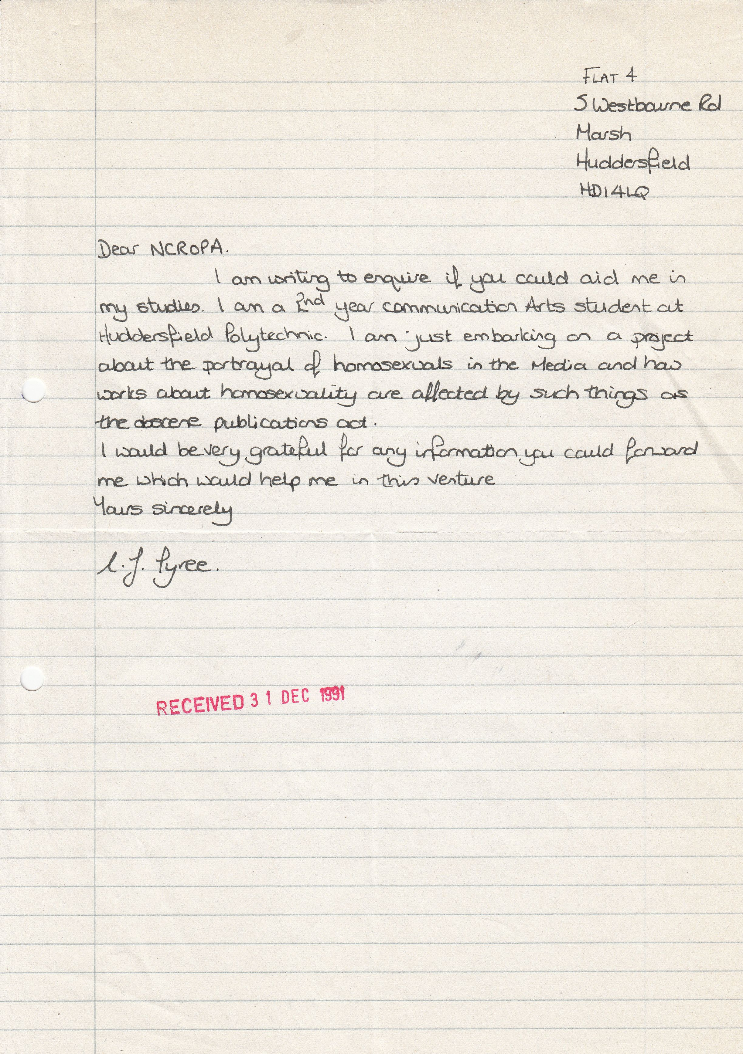 the ncropa archive 1976 re the above i cannot make out the so will leave deciphering it to you dear reader